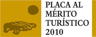 Placa al Mérito Turístico 2010