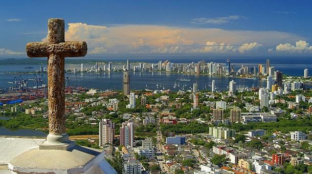 Cartagena de Indias desde el Cerro de la Popa