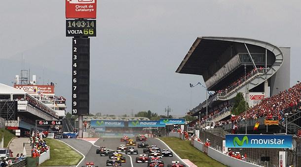 Fórmula 1 Circuito Catalunya