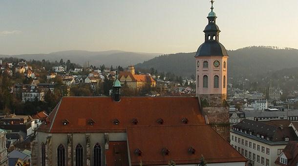 Iglesia en Baden Baden
