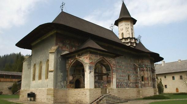 Iglesia en Bucovina