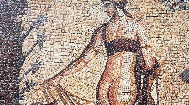 Moisaico de Leda, Pafos