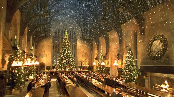 Natale Hogwarts