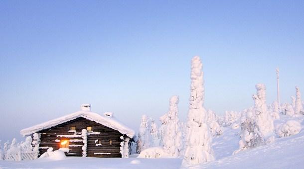 Refugio en Iso-Syöte, Laponia