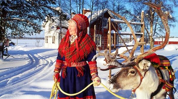 Sami en Leuku, Laponia