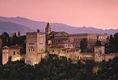 La Alhambra al atardecer, Granada