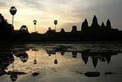 Amanecer en Angkor Wat, Siem Reap