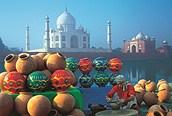 Artesania en Agra