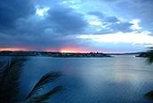 Atardecer en el Lago Peten, Flores