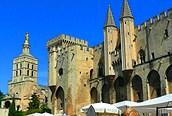 Avignon en la provenza francesa