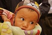 Bebé vietnamita, Sapa
