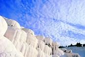Castillos de algodon, Pamukkale