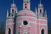 Catedral rosa, San Petersburgo