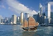 La ciudad de Hong Kong fue colonia del Reino Unido hasta julio de 1997.