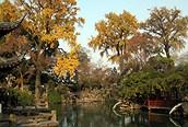 Clásico jardín de Suzhou