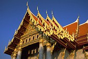 Detalle del Palacio Real, Bangkok