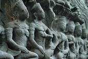 Detalle del Templo Ta Prohm, Angkor