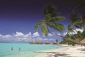 Disfrutando de la playa, Bora Bora