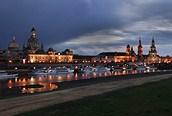 Dresden de noche