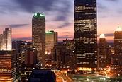Edificios iluminados, San Francisco