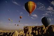 En globo por la Capadocia turca