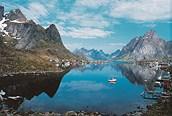 Entre las montañas de Noruega