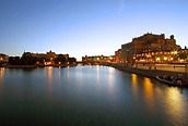 Estocolmo anocheciendo