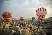 Excursión en globo por la Capadocia, Turquía