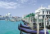 Góndolas venecianas, Venecia