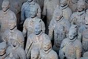 Guerreros en fila, Xian