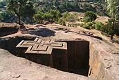 Iglesia excavada en la roca, Lalibela