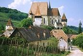 Iglesia foicada cerca de Sighisoara, Transylvania