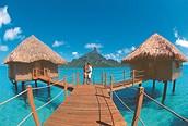 Increíbles vistas desde nuestra habitación, Bora Bora