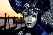 Máscara del carnaval veneciano