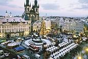 Mercadillo navideño en Praga
