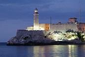Morro de La Habana de noche