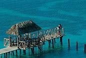 Muelle en el Cayo Santa María