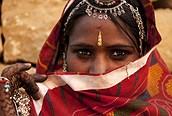 Mujer india en Jaipur
