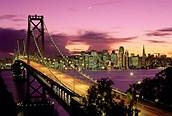 Noche en el Goden Gate, San Francisco