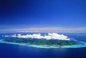 Panorámica de la isla de Moorea