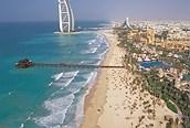 Panorámica de la playa, Dubai