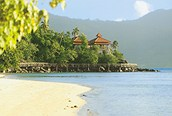 Playa en Seychelles
