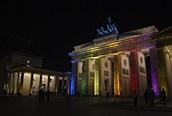 Puerta Brandenburgo, Berlín