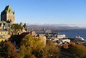Quebec y el río San Lorenzo