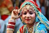 Sari, el traje típico indio