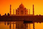 Taj Mahal al atardecer, Agra