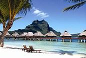 Un buen lugar para descansar, Bora Bora