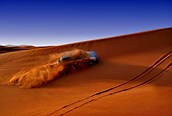 Un paseo por las dunas, Dubai