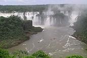 Vista aérea de Iguazú