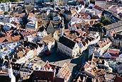 Vista aérea de Tallin